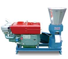 木屑动盘颗粒机-柴油机型