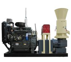 木屑动辊颗粒机-柴油机型
